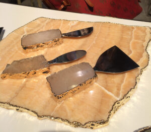 cheese agate knives