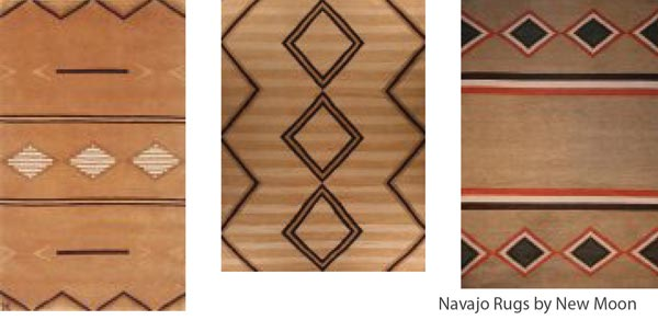 new moon navajo rugs